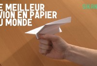 avion  en origami