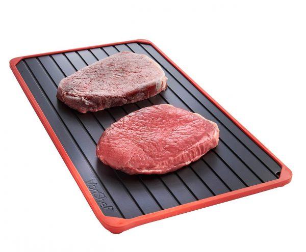 plaque de décongélation pour décongeler rapidement les aliments