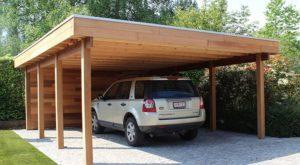 fabriquer carport en bois